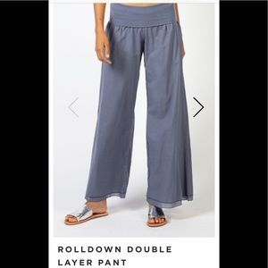 Hard Tail Double Layer Roll Top Pants